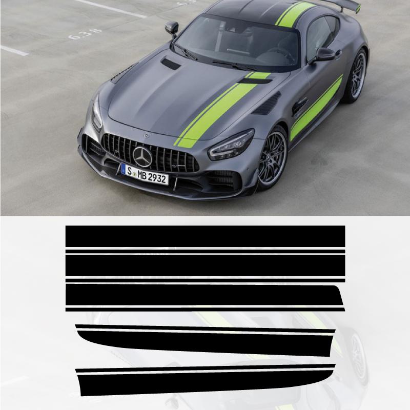 Mercedes AMG GTR Pro Decals Set