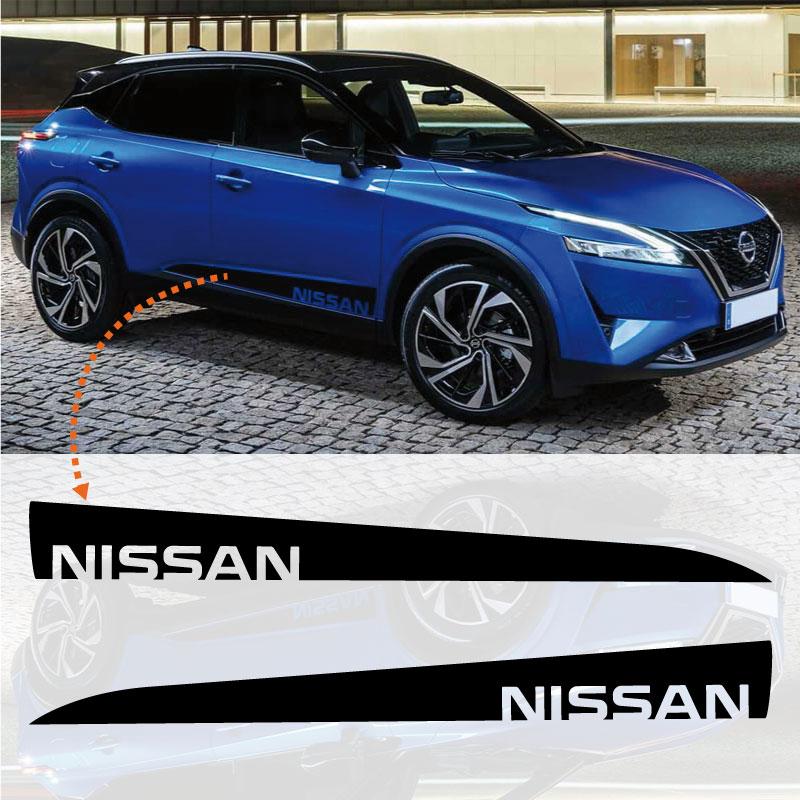 Nissan Qashquai Stripes Stickers Set