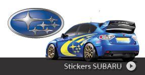 Stickers SUBARU, autocollant personnalisé