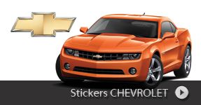 Stickers CHEVROLET