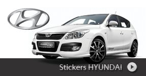 Stickers HYUNDAI personnaliser