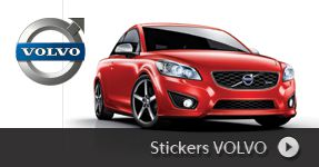 Stickers VOLVO autocollants personnalisé