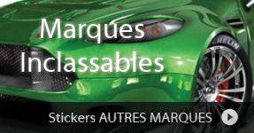 Stickers sur voiture, Logos adhésif auto