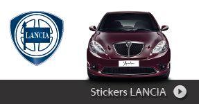 Stickers LANCIA autocollant à personnaliser