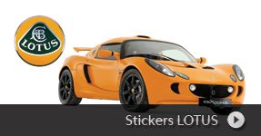 Stickers Lotus autocollants a personnaliser