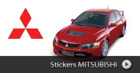 Stickers Mitsubishi