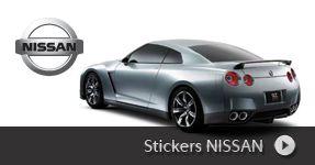 Stickers NISSAN autocollants à personnaliser