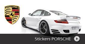 Toute notre collection de stickers Porsche