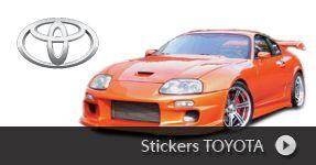 Stickers Toyota / Lexus autocollant personnalisé