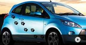 stickers trompe l'oeil pour voiture autocollants personnalisés sur mesure pour votre auto