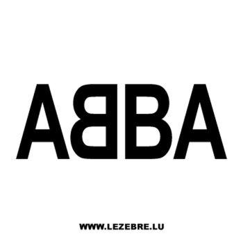 Sticker ABBA
