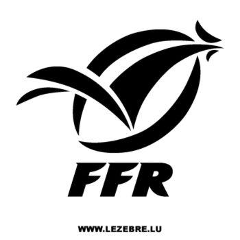 > Sticker FFR Fédération Française de Rugby Logo
