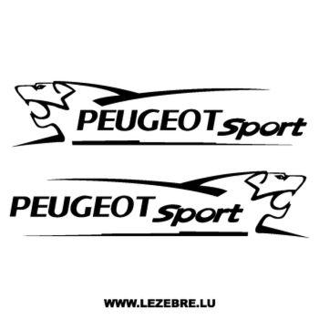 Kit de 2 stickers Peugeot Sport Lion