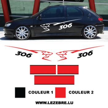 Kit Autocollants Peugeot 306