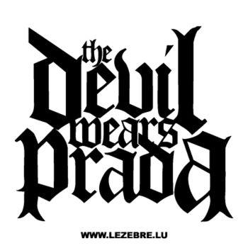 The Devil Wears Prada Decal