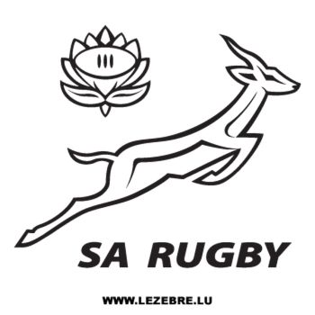 South Africa Rugby Logo Decal