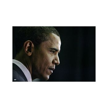 Sticker Déco Géant Barack Obama