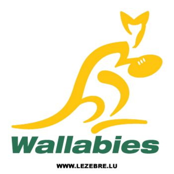 Sweat-shirt Australie Wallabies Rugby Logo 2