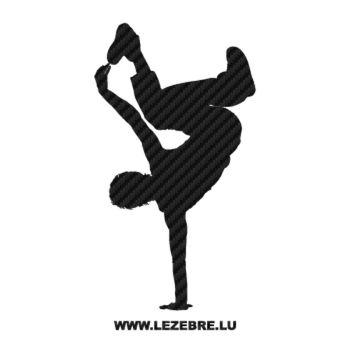 Sticker Carbone B-Boy Breakdance II