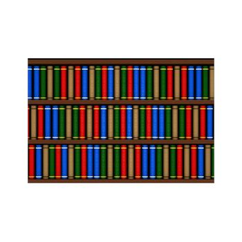 Bookcase Decoration Decal #5