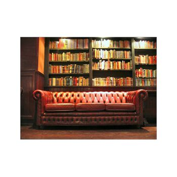 Couch bookshelf Decoration Decal