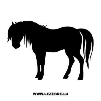 Horse Decal #3