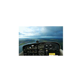 Sticker Déco Commande Avion Cessna