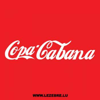 T-Shirt Copa Cabana parody Coca-cola