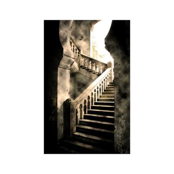 Staircase Castel #5 Decoration Decal