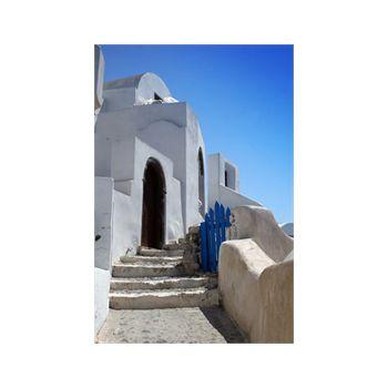Autocollant Géant Escalier Maison Grèce