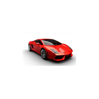 Decoration Sticker Ferrari 458 in 3D