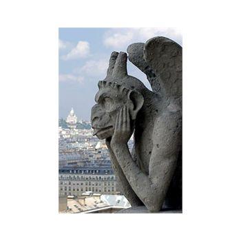 Autocollant Géant Gargouille Notre Dame Paris