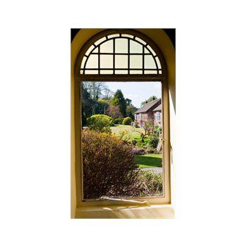 Sticker Géant Jardin Anglais par la Fenêtre