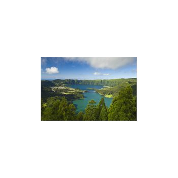 San Miguel Lake in Azores Portugal Decoration Decal