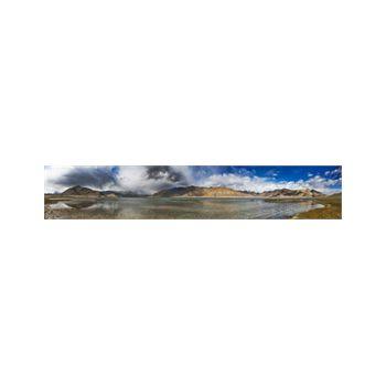 Sticker panoramique Lac et Montagne