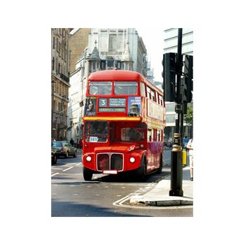London Bus Decoration Decal