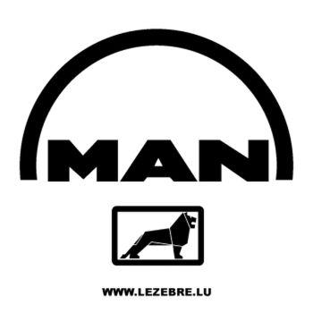 Man logo Decal