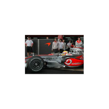 McLaren Mercedes F1 Grand Prix Decoration Decal