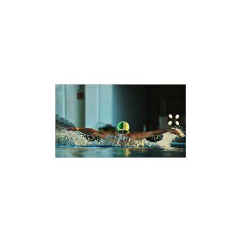 Sticker Déco Géant Nageur dans Piscine Olympique