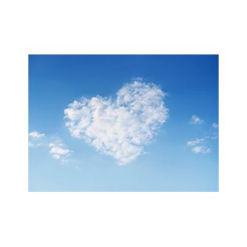 Cloud Heart Decoration Decal