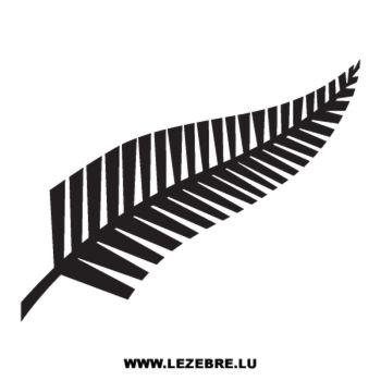 Casquette New Zealand NZRU Fern Rugby Logo
