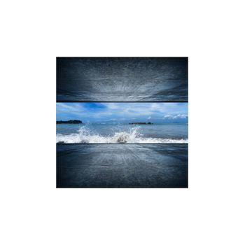 Dekoaufkleber Ozean Abstrakter Hintergrund