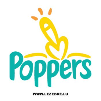 T-Shirt Poppers parodie Pampers