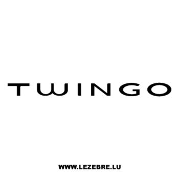 Renault Twingo Logo Decal 2