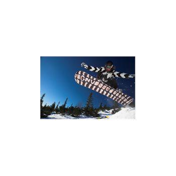 Sticker Déco Géant Saut Snowboarding