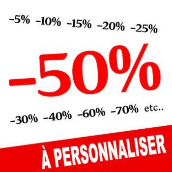 Decal vitrine -50% to customize