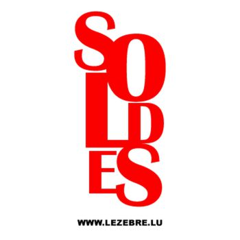 Showcase Soldes Decal