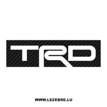 TRD Logo Carbon Decal