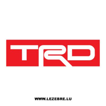 TRD Logo Decal