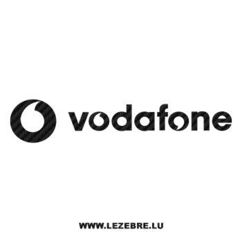 Sticker Carbone Vodafone